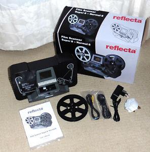 Reflecta Cine Film Scanner Super 8 - Normal 8 + Extras