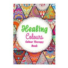 Adult Healing Colouring Book - Anti Stress Colour Therapy Relaxing - Green