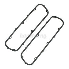 Pair Black Steel Core Rubber Valve Cover Gaskets For Ford Sb 260 289 302 351W ~
