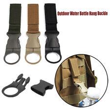 Buckle Backpack Hanger Hooks Water Bottle Holder Camping Hiking Carabiners