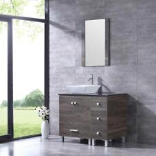 36'' Bathroom Vanity Cabinet Vessel Sink Faucet All In The Pic Are Included