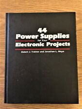 44 Power Supplies For Your Electronic Projects Book Lot of Circuit Drawings