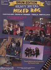Drum Edition - Heavy Metal Mixed bag LIBRO SPARTITO 1989 USATO BUONE CONDIZIONI