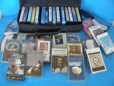 Lot Of 36 Country Music Plus Other Genres Cassette Tapes And Case Less Than $2