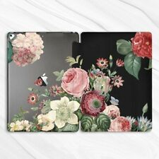 Rose Peony Flower Nature Girly Case For iPad 10.2 Air 3 Pro 9.7 10.5 12.9 Mini 5