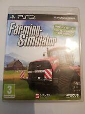 Farming Simulator PlayStation 3 Ps3