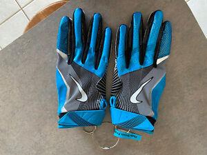 Nike Carolina Panthers Gloves - Philly Brown Practice Worn