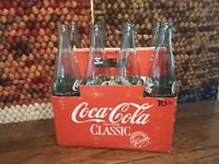 Coca-Cola Bottle 16 Oz Embossed Empty Bottles 8 Different State Pack Carton
