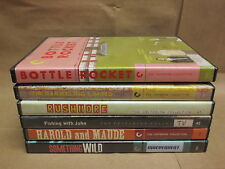 Criterion DVD lot - 6 modern comedies - Bottle Rocket, Harold & Maude, more!