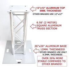 CedarsLink 6.56 FT 2 Meter Aluminum Stage/Club DJ Lighting Truss Tower Totem