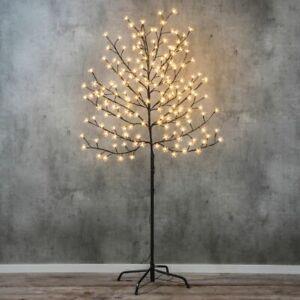 Kirschblütenbaum Sakura Baum Lichterbaum Kirschbaum 180 LED Licht Blüten 150 cm