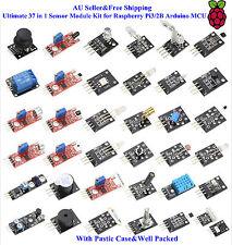 AU Ultimate 37 in 1 Sensor Module Kit for Raspberry Pi3/2B Arduino MCU Education