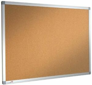 Cork Notice Board Pinboard 1000mm x 700mm DBD2837