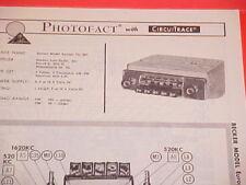 1963 BECKER AM-FM RADIO SERVICE MANUAL EUROPA TG MU JAJUAR TRIUMPH VW PORSCHE