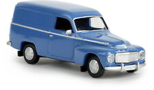 Brekina 29373 Volvo Duett Box Brilliant Blue, Td, H0
