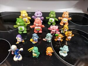 Vintage Care Bears figures some poseable