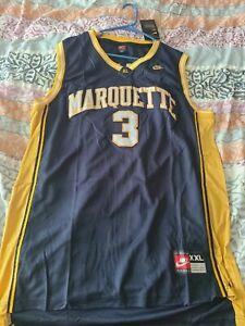 Dwayne Wade Marquette jersey