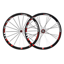 American Classic Carbon 38 Tubular Shimano Wheelset 9/10/11 Speed Freehub