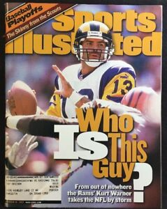 Sports Illustrated Magazine October 18, 1999 Kurt Warner St Louis Rams  Cover
