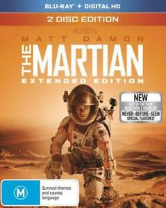 Martian - Extended Cut, The Blu-ray