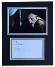 Simon McBurney Signed Autograph 10x8 photo display Harry Potter Film COA