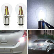 4 LED Filament 1157 BAY15D 21/5W Auto Reverse Backup Tail Stop Brake Light Bulb