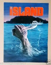 THE ISLAND (MICHAEL CAINE) Original Movie Flyer 70s