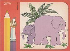 Albi da colorare per bambini Gipsy della Malipiero - Periodo anni 60 - Nuovo (7)