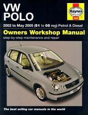 Vw Polo 1.2 1.4 Gasolina 1,4 1,9 Diesel 2002-05 (51 a 05 Reg) Haynes Manual de 4608