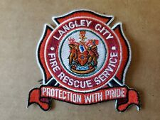 Langley City Fire Rescue Shoulder Patch