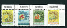 PAPUA and NEW GUINEA 1992 FLOWERING TREES HIBISCUS ACACIA etc set of 4 VF MNH