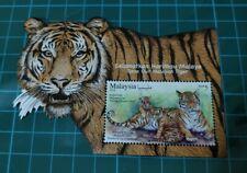 Malaysia 2019 Wildlife Conservation Malayan Tiger Harimau Malaya MNH MS STAMP