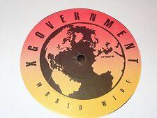 """X-Government - Heat / World Premier 12"""" Vinyl Record 1997 Underground Indie Rap"""