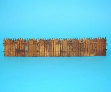 ELASTOLIN 4CM 40MM SERIES No. 9883 CAMP FENCE PALISSADE 1960s GERMANY