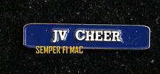 VARSITY SONG COLLECTOR CHEER PIN HIGH SCHOOL COLLEGIATE JACKET BROACH CHEER JV