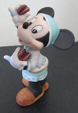 RARE Disney Minnie Mouse Santa Fe Mexico Ceramic Porcelain Figure Figurine
