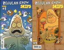 REGULAR SHOW SKIPS #1A & #1 B set (2) kaBOOM comic CARTOON NETWORK TV RIGBY 2013