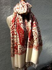 6249630cc89036 Kaschmirschal Damen Wollschal Wolltuch Stola 50 % Kaschmir Wolle neu  bestickt