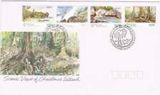 Christmas Island 1993 FDC 384-387 - Scenic View