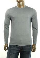 New Tasso Elba Mens V Neck Supima Cotton Blend Long Sleeve T Shirt Tee S