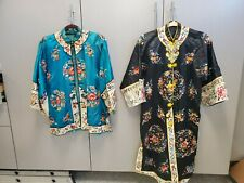 Two Antique Chinese Embroidery Jackets