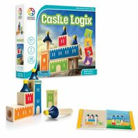 SmartGames Castle Logix Wooden Skill Building Puzzle Game Ages 4+