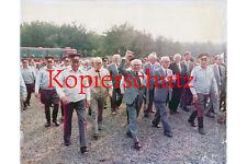 G43 Armeegeneral Hoffmann Erich Honecker Horst Stechbarth DDR NVA Foto 20x30 cm