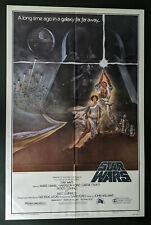 Star Wars Style A 77/21 Original Folded one sheet 27x41 movie poster 1977 GAU
