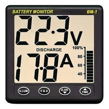 NASA Marine BM1 Clipper Battery Monitor Instrument 24 Volt