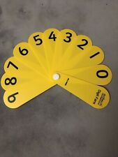 EdTech Pupil Digit/Number Fans - Pack of 10 - Educational Resource