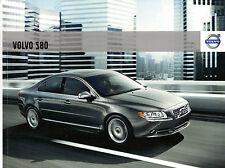 Volvo S80 2009-10 UK Market Sales Brochure SE Lux Premium Executive