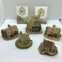 Lilliput Lane Collection Of 4 Ornaments Apothacary Wheyside Cottage Plus 2 More