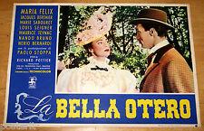 fotobusta originale LA BELLA OTERO Maria Felix 1955