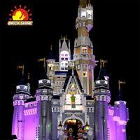 Brick Shine - Led Light Kit for LEGO  Disney Castle 71040 ( Australia Seller)